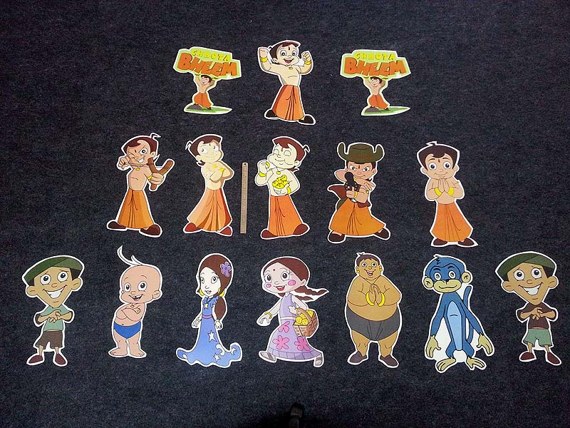 Chota Bheem Theme Birthday Party Decoration Supplies Untumble