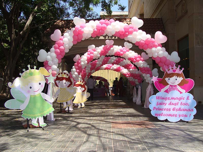 Princess Theme Party Decoration Ideas Part - 27: Princess Theme Party - Decoration Supplies Party Kits