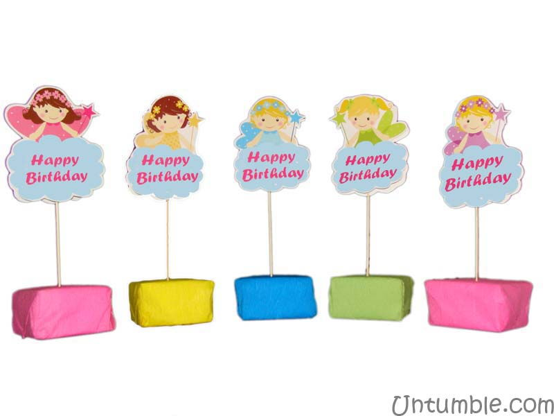 Fairy topper with base centerpiece (Single piece price mentioned)