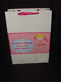 Fairy Princess theme Fairy stickered gift bags