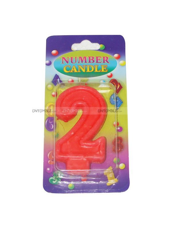 Maternity Props Theme Number Candle