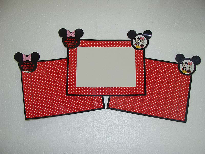 Mickey Minnie Theme Photo Frame Untumblecom