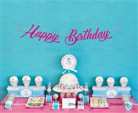 Maternity Props theme Pink Happy Birthday Banner