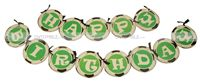 Happy Birthday Bunting - Football theme party supplies