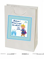 Stickered gift bags - Little Prince Theme Birthday Party