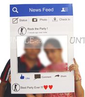 Dinosaur theme Facebook Photo Booth Frame