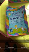 Wish book - Rainbow theme colorful birthday party decoration