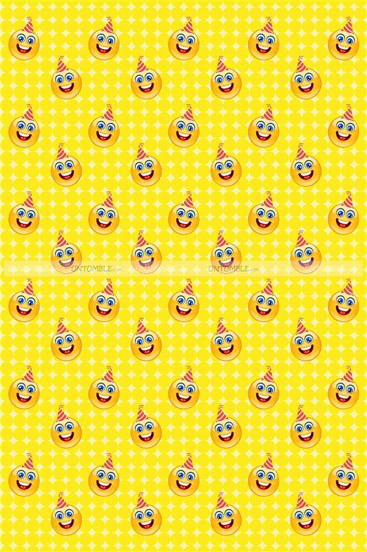 Smiley theme gift wrapper untumble smiley theme gift wrapper negle Images