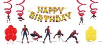 Superhero theme Spiderman theme party decoration kit (Pack of 31 pcs)