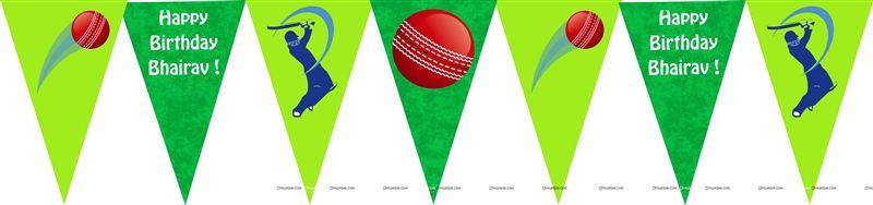 India Cricket Birthday Cake