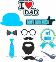 Photo Booth Props - Fathers Day