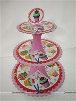 Party Supplies theme Pink Cup Cake Stand