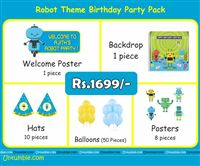 Mini Kit - Rs 1699 - Robot Theme Party Supplies
