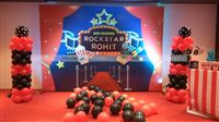 Rockstar Party theme Rockstar-Movie theme backdrop