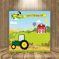Tractor theme - Tractor theme Backdrop