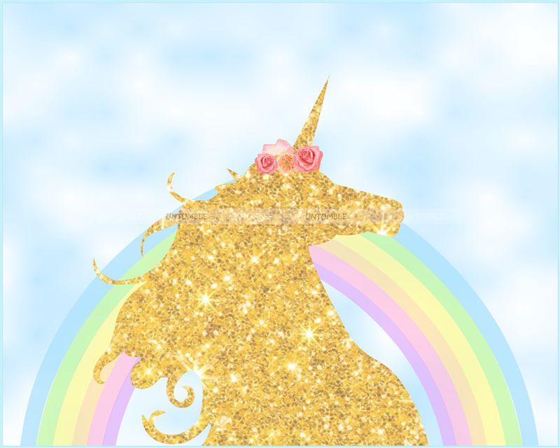 Unicorn Sky Backdrop