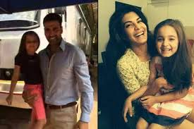Akshay Kumar and Twinkle Khanna's pretty princess little Nitara turned three