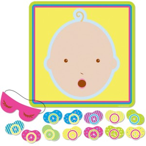 Pin it up - Baby shower games