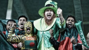 Irish cricket fans