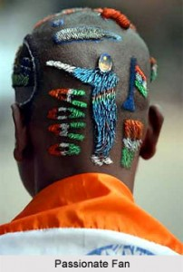 Ganguly head shave art