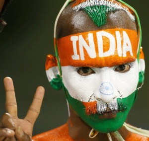 India's 'biggest' fan Sudhir Kumar shows his support