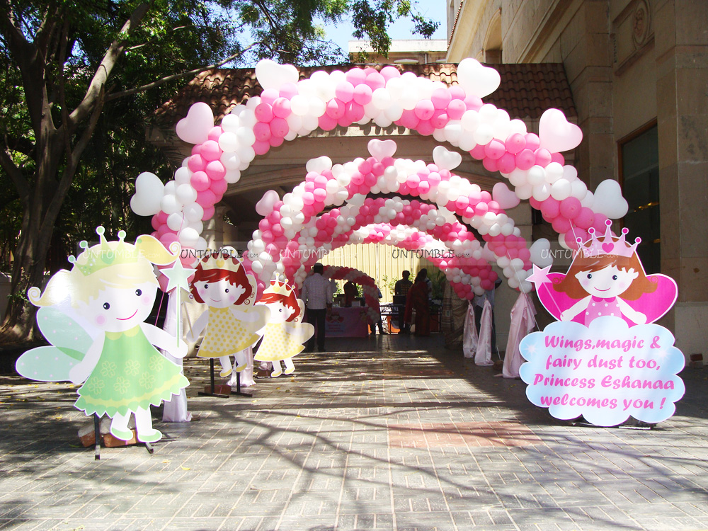 Fairy Themed Birthday Party For Little Princess Eshanaa