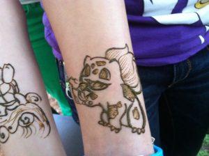 Mehndi Designs For Childrens Leg : Cartoon mehendi designs for your little princesses