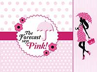 Pink & Blue  theme Baby Shower Banner