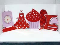 Bakery Party theme Baking equipment cutouts