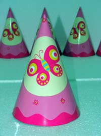 Butterfly Birthday theme Curling ribbon