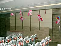 Pink Pony Birthday theme Ceiling hangings
