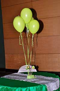 Jungle Birthday Supplies theme Center Pieces