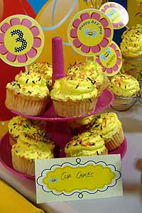 Bumble Bee theme Cup Cake Toppers