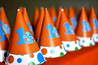 Circus Elephant Birthday theme Hats