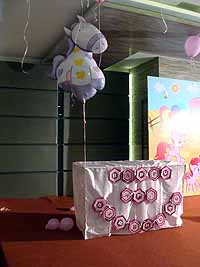 Pink Pony Birthday theme Table covers