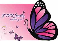 Butterfly Namakaran theme Welcome Banner