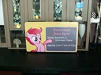 Welcome Banner - Pink Pony