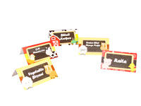 Baby Barnyard theme Food labels