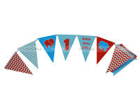 Buntings - Baby Elephant Party Supplies