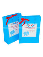 Baby Elephant theme Gift Bags - Fully designed