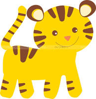Baby Jungle theme Baby Jungle Tiger