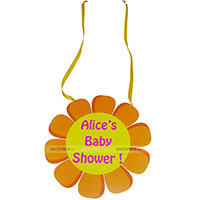Sunshine BabyShower theme Welcome Door hanger