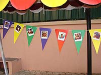 Buntings - Ball themed party supplies