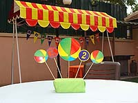 Ball Party Supplies theme Center pieces