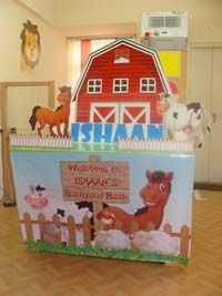 Barnyard birthday theme Candy counter pack