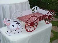Cup cake stands - Barnyard Birthday