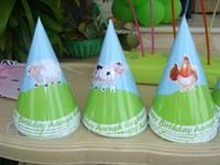 Barnyard birthday theme Hats