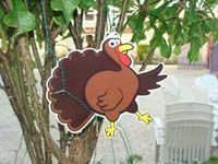 Barnyard theme Barn Turkey poster