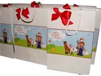 Barnyard theme Stickered gift bags