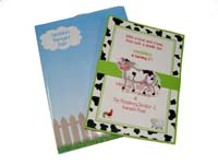 Barnyard theme Custom invitations